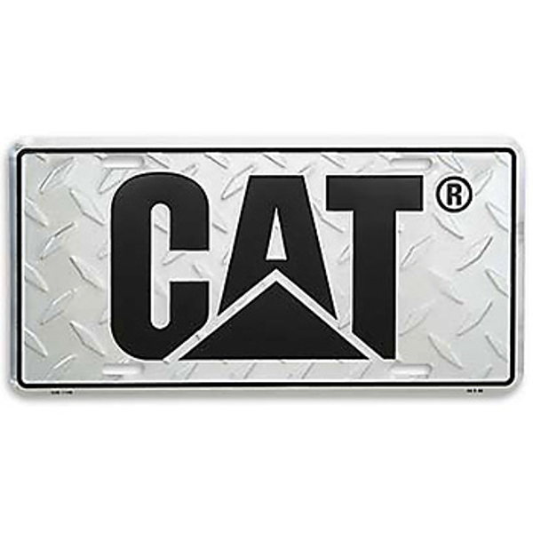 Picture of CAT Treadplate License Plate
