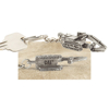 Picture of 320D Hydraulic Excavator Pewter Replica Key Tag
