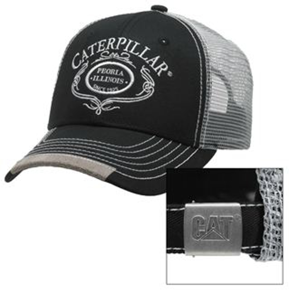 Picture of Caterpillar® Script Trucker Cap