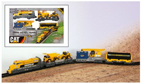 Picture of CAT Iron Diesel  Battery Operated Train