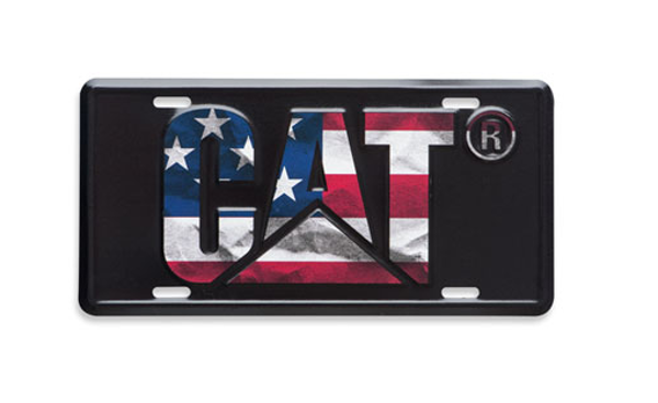 Picture of Flag License Plate